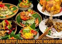 Senarai Buffet Ramadhan 2018 Negeri Sembilan