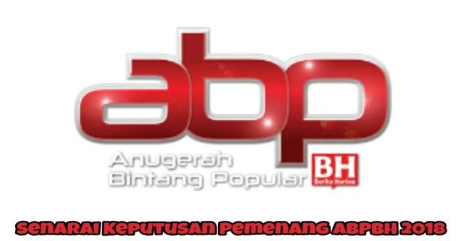 Senarai Keputusan Pemenang ABPBH 2018