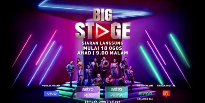 Senarai Lagu Tugasan Big Stage 2019 Minggu 4
