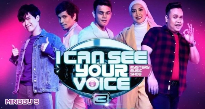 Live Streaming I Can See Your Voice Malaysia 2020 Minggu 3