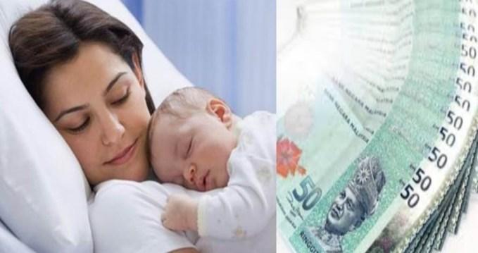 Cara Mohon Bantuan Ibu Bersalin 2020 Sebanyak RM450 Online (BIB)