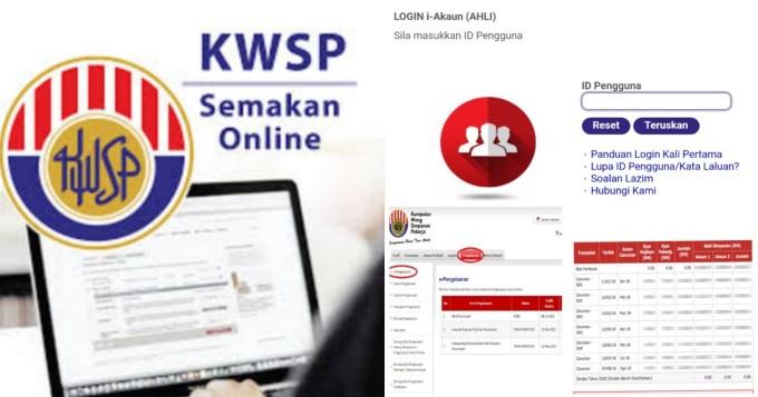 Cara Semak Baki Akaun 2 Untuk Pengeluaran i-Lestari KWSP Bulan Seterusnya