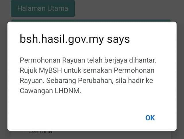 Permohonan Rayuan Bantuan Sara Hidup BSH 2020 Online Dan Manual (Borang)