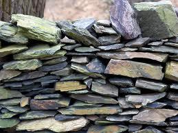 stone wall opening