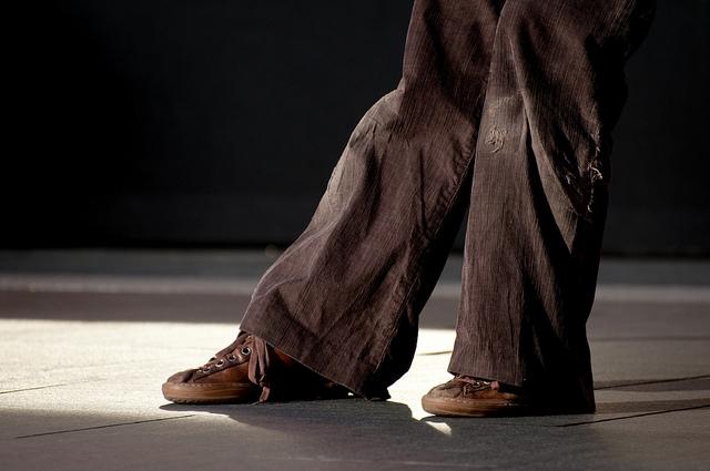ragged feet