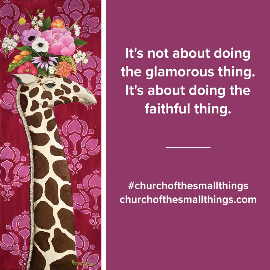 10 Things I Learned Reading Church of the Small Things from Becky @ My Ink Dance
