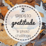 You can create a heart of gratitude in 2 easy steps! Don't miss this quick photo challenge!