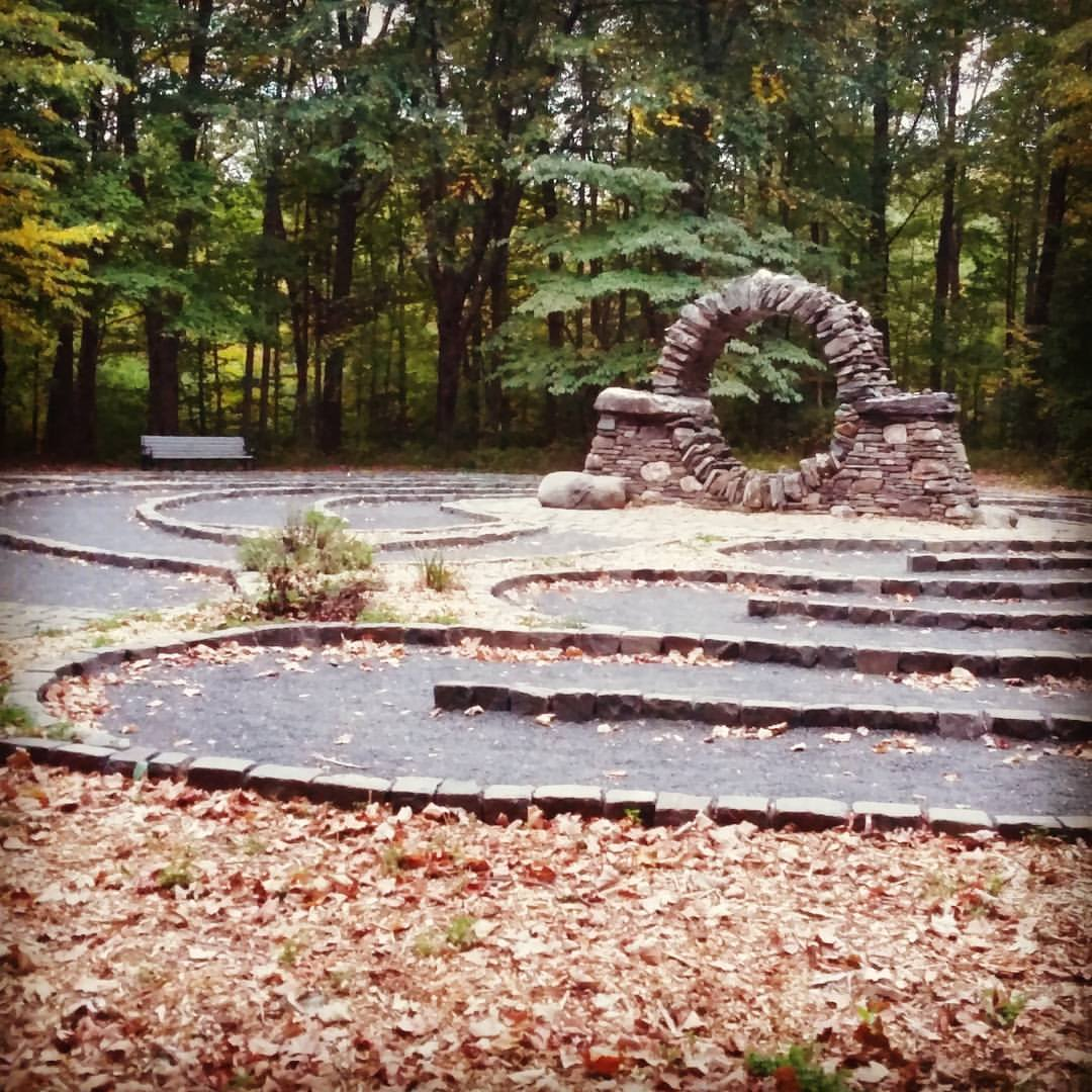 Sometimes we just need to walk a labyrinth with Jesus.