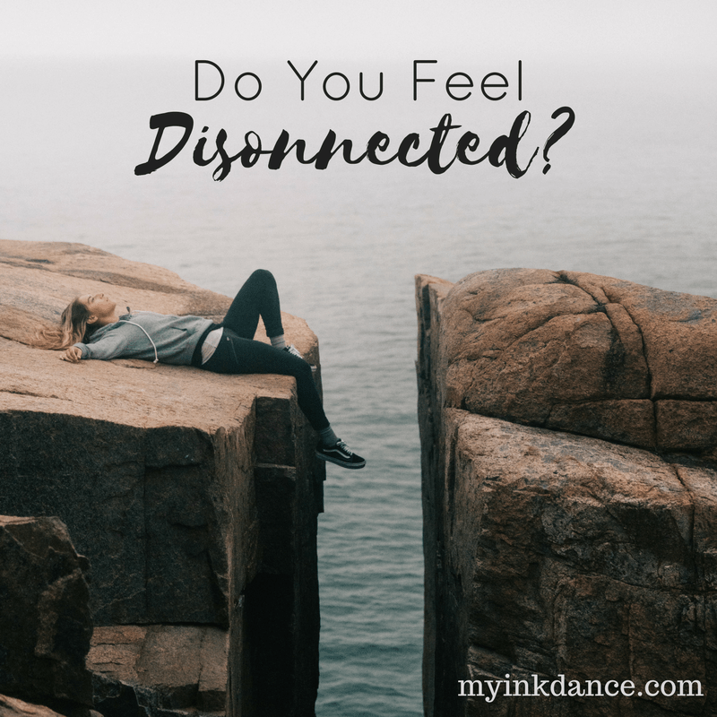 Do you ever feel disconnected from God? I have 2 things to tell you: You're not alone and I can help. Head over to My Ink Dance now to see what I discovered that made a difference!