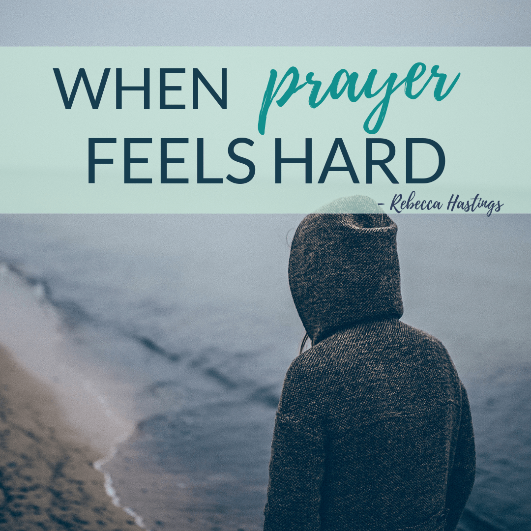 Prayer doesn't always feel easy. But there is something you can do when prayer feels hard. Read more at My Ink Dance