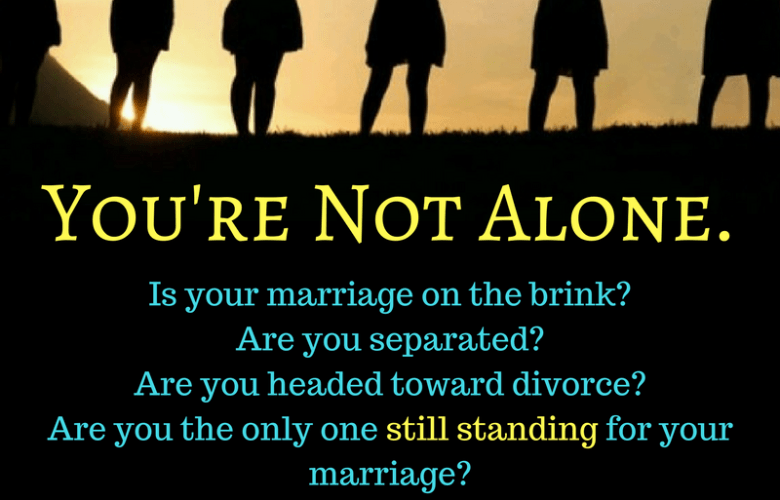 Standing for your marriage group