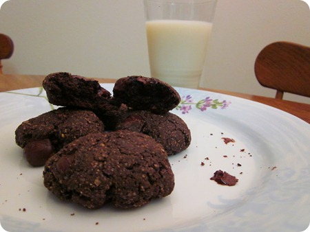 double chocolate cookies 002