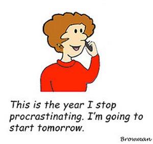 Procrastination-cartoon