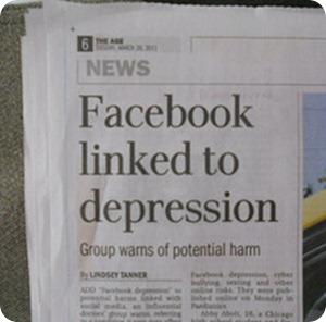 facebook-depression