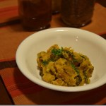 Creamy Eggplant and Potato Shak (Recipe)