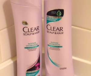 CLEAR scalp & hair shampoo and conditioner