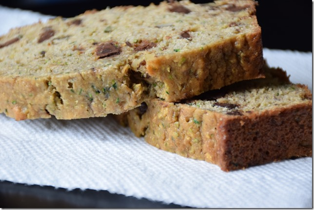 Chocolate Chip Zucchini Banana Bread 3