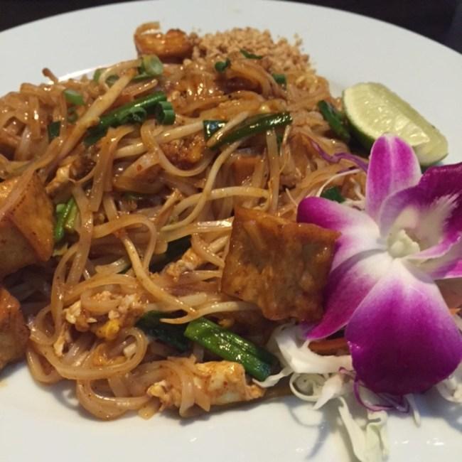 The Lemon Grass St. Petersburg, Florida - Tofu Pad Thai