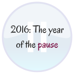 2016: The Year of the Pause