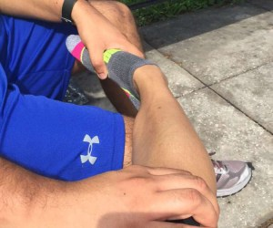Mid-walk ankle pain