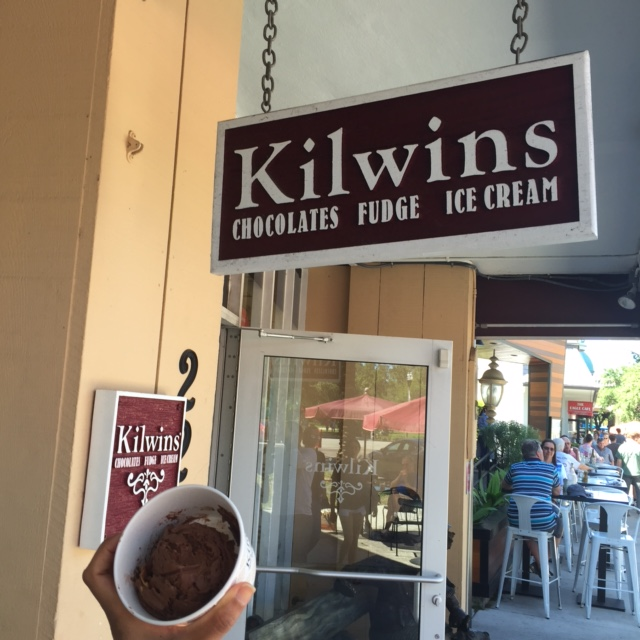 Kilwins ice cream downtown St. Petersburg