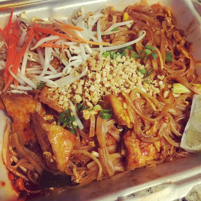 Pad Thai from Sab Cafe in downtown St. Petersburg