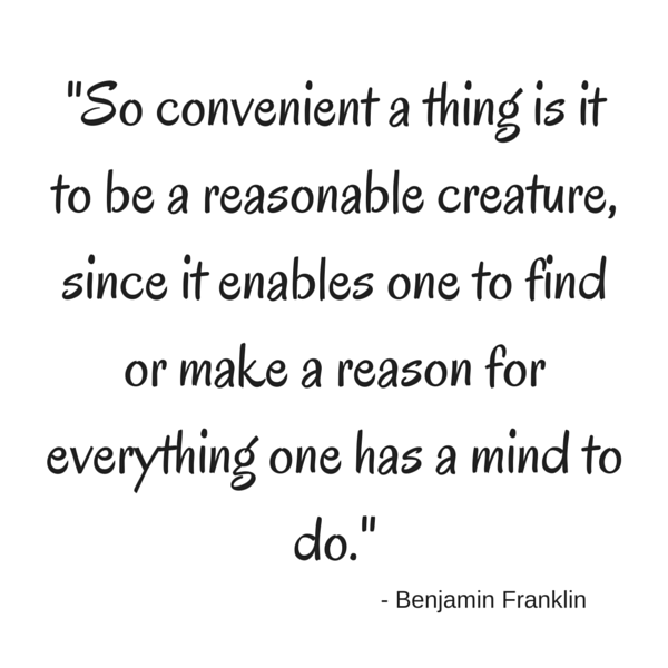 Loophole quote - Benjamin Franklin
