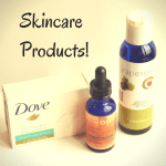 New Skincare Products – Grape Seed Oil + Instanatural Skin Clearing Serum + Dove Bar Soap