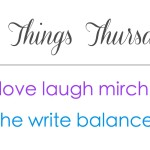 Three Things Thursday – April Goals, a New Book, and Nail Polish