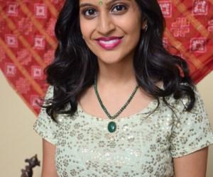 Indian wedding henna party bride