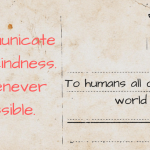 Communicate with Kindness