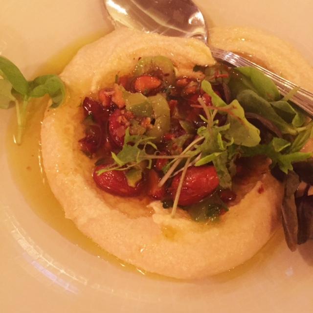 Ema - Chicago - Almond and Garlic hummus