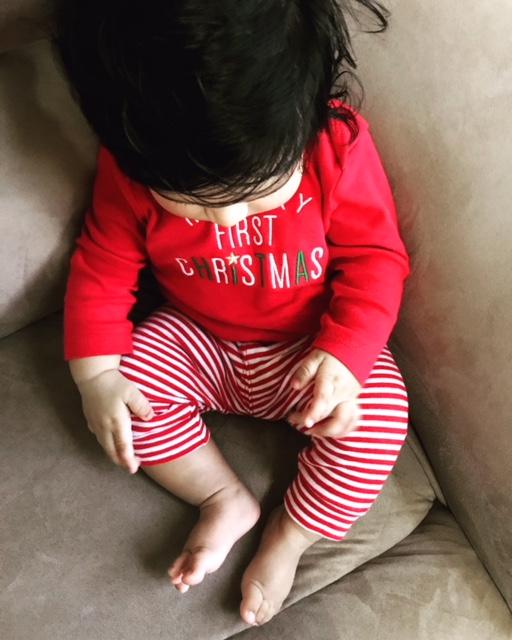 Christmas 2017 baby boy