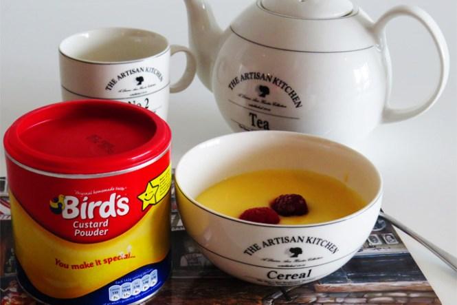 Birds-custard maken