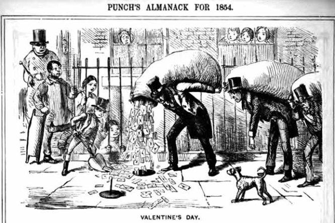 valentijnsdag-19e-eeuw