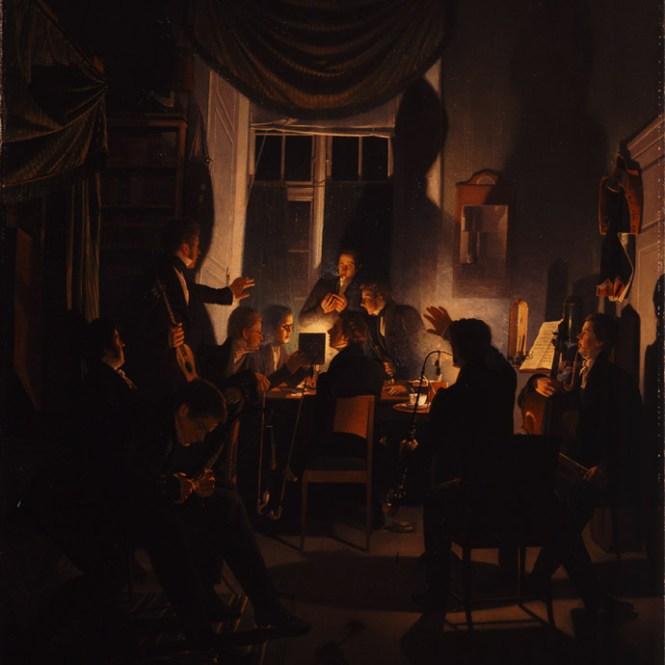 victoriaans-deense-gouden-eeuw-smoking-party