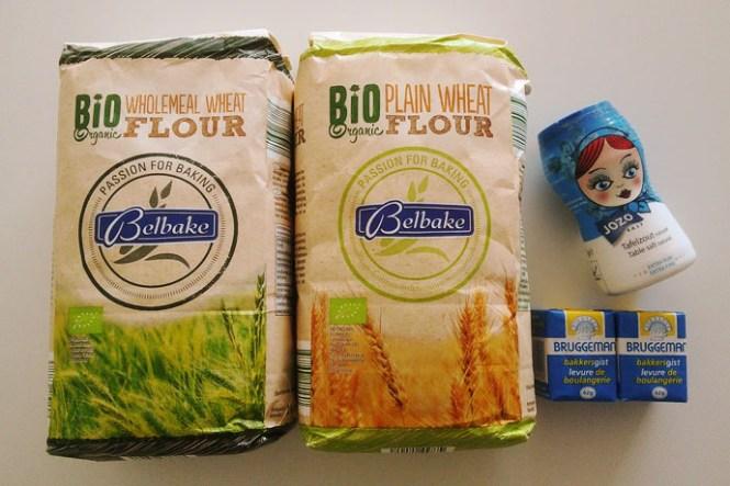 brood-ingrediënten