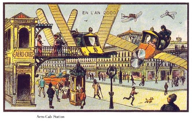 vliegende-taxi-21ste-eeuw-futuristisch