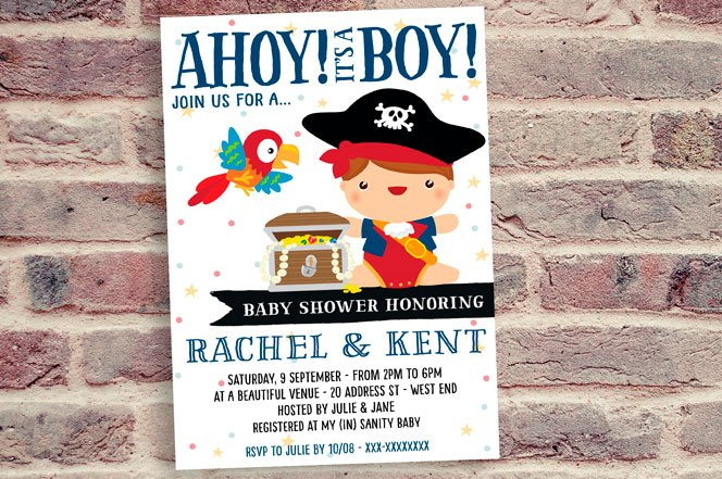 Pirate Baby Shower