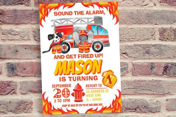 Firefighter Invitation