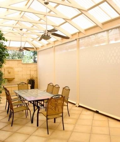 Outdoor blinds from Adelaide Alfresco Blinds