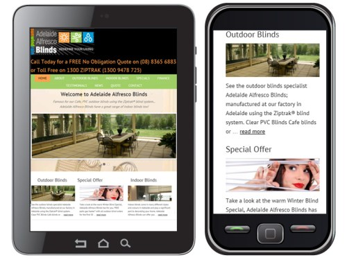 read about responsive website design