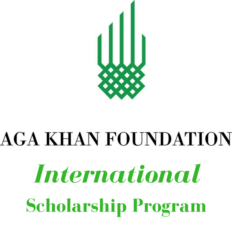 Aga Khan Foundation International Student Scholarship Programme
