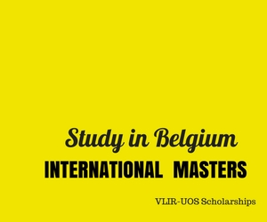 International Masters Scholarships in Flanders, Belgium