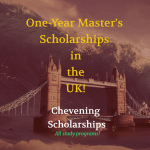 British Chevening Scholarships (Foreign Nationals)