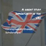 Study in the UK – Commonwealth Shared Scholarships