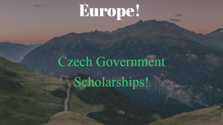 Czech Government Scholarships For Foreign Students
