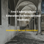Undergraduate Education in Germany (Free)