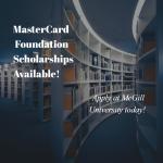 MasterCard Scholarships at McGill University