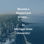 MasterCard Scholarships at Michigan State University